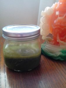 Kale,spinach,carrot