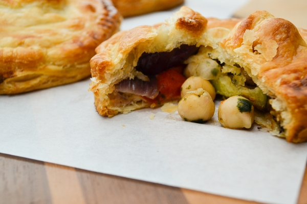 vegetable picnic pies